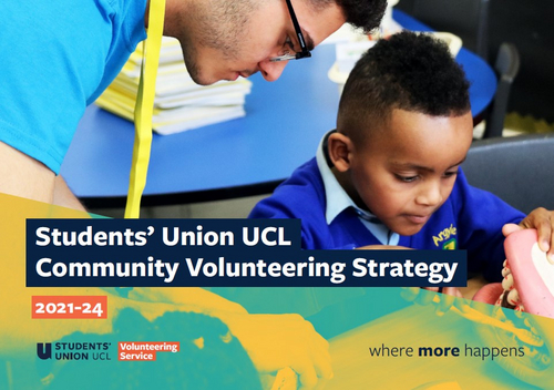 Volunteering strategy cover